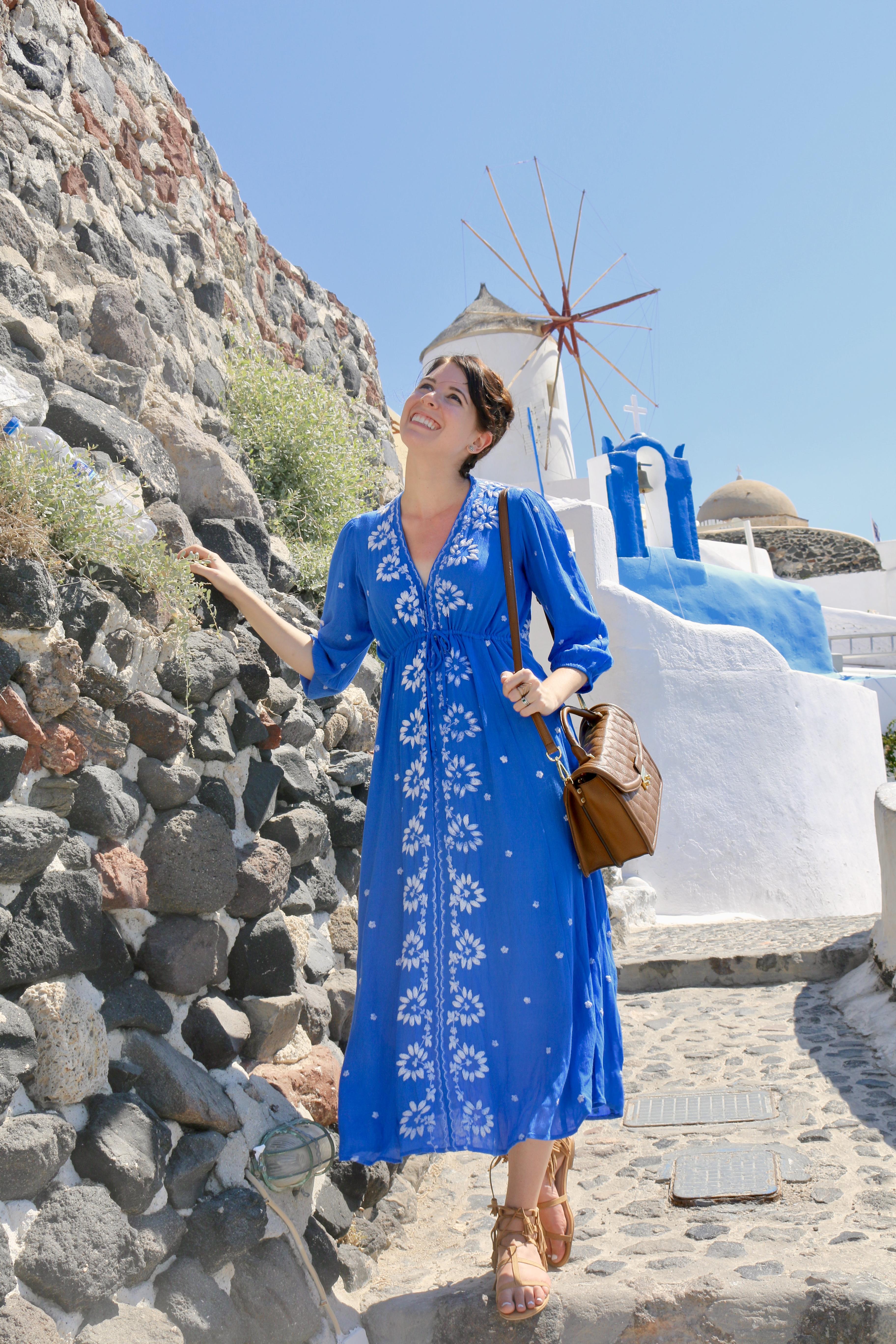 Santorini Blue | Greta Hollar