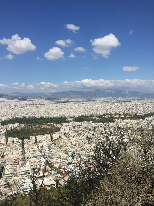 Three Days in Athens | Greta Hollar