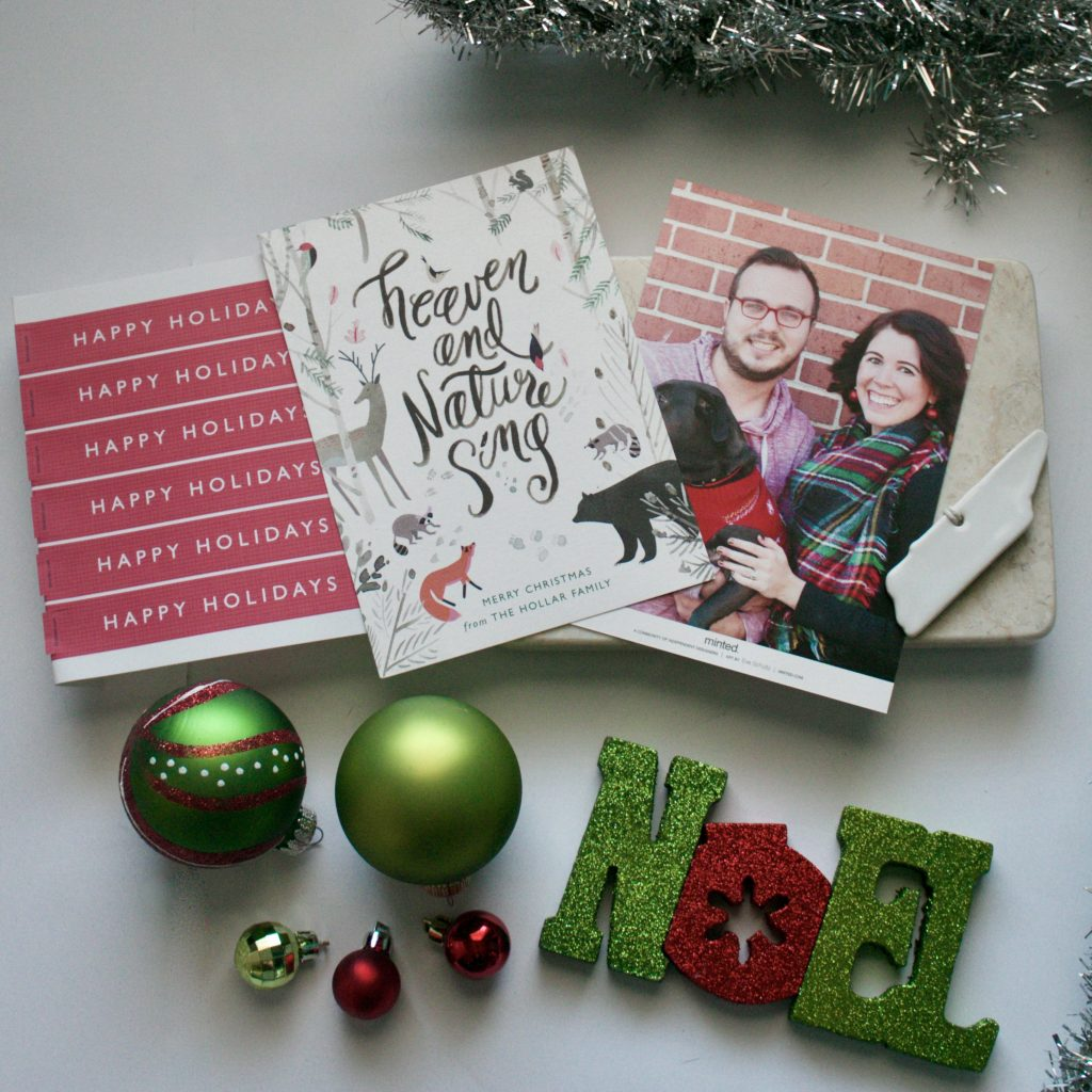 Christmas Cards With Minted + A Giveaway
