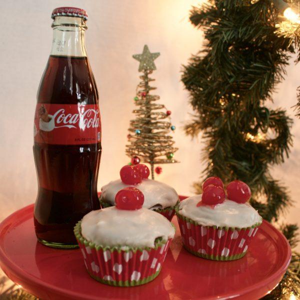 Christmas Coca-Cola Cupcakes | Greta Hollar - Delicious Christmas Coca Cola Cupcakes by Nashville foodie blogger Greta Hollar