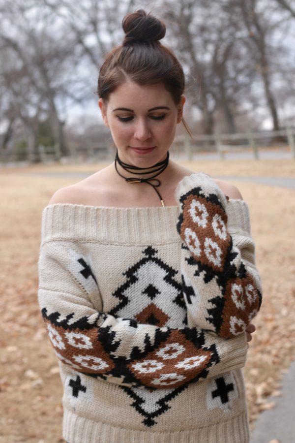 Aztec Sweater | Greta Hollar