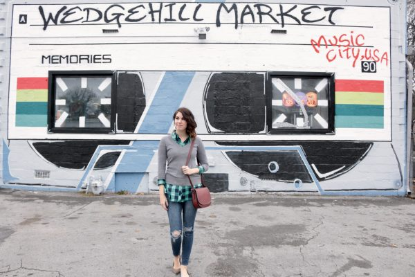 More Nashville Murals You Should Visit | Greta Hollar - 32 More Nashville Murals You Should Visit by popular Nashville blogger Greta Hollar: image of cassette mural in Nashville, Tennessee.