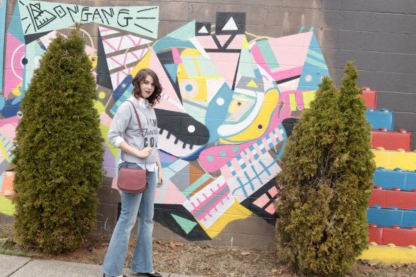 More Nashville Murals You Should Visit | Greta Hollar - 32 More Nashville Murals You Should Visit by popular Nashville blogger Greta Hollar: image of wall mural in Nashville, Tennessee.