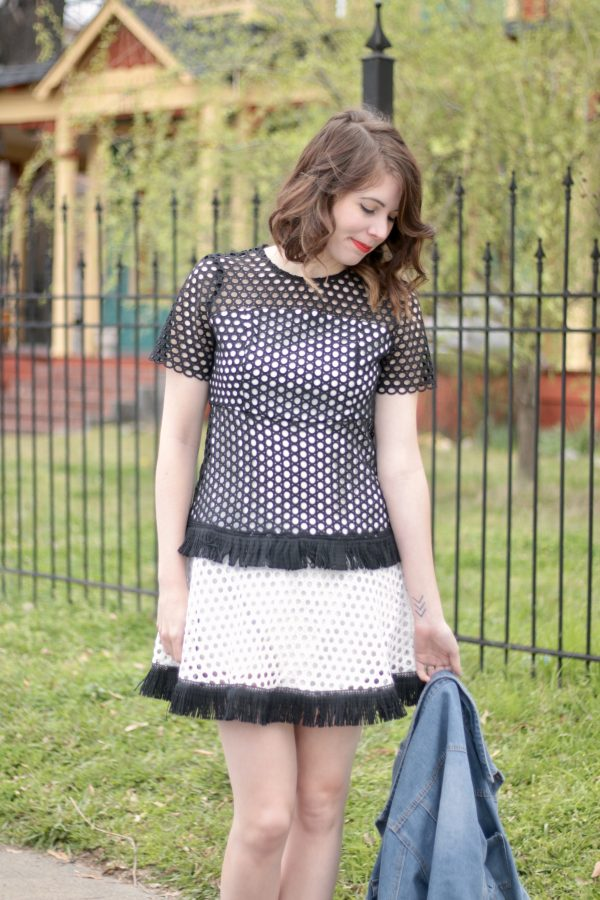 Cooper-Young and Eyelet Dress | Greta Hollar