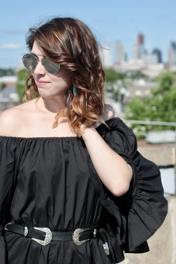 The Black Romper You'll Have On Repeat All Summer | Greta Hollar