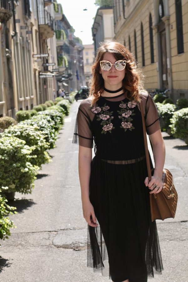 Floral Overlay Dress & Dolce Dupe | Greta Hollar