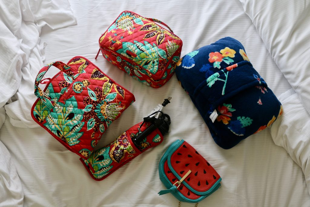 5 Things to Help You Stay Organized When You Travel with Vera Bradley