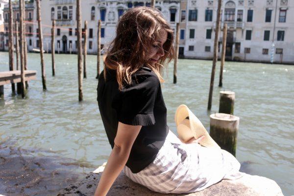 Stripes in Venice + A Gucci Giveaway   Greta Hollar