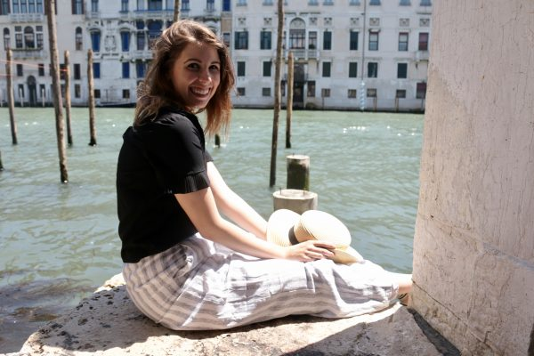 Stripes in Venice + A Gucci Giveaway | Greta Hollar