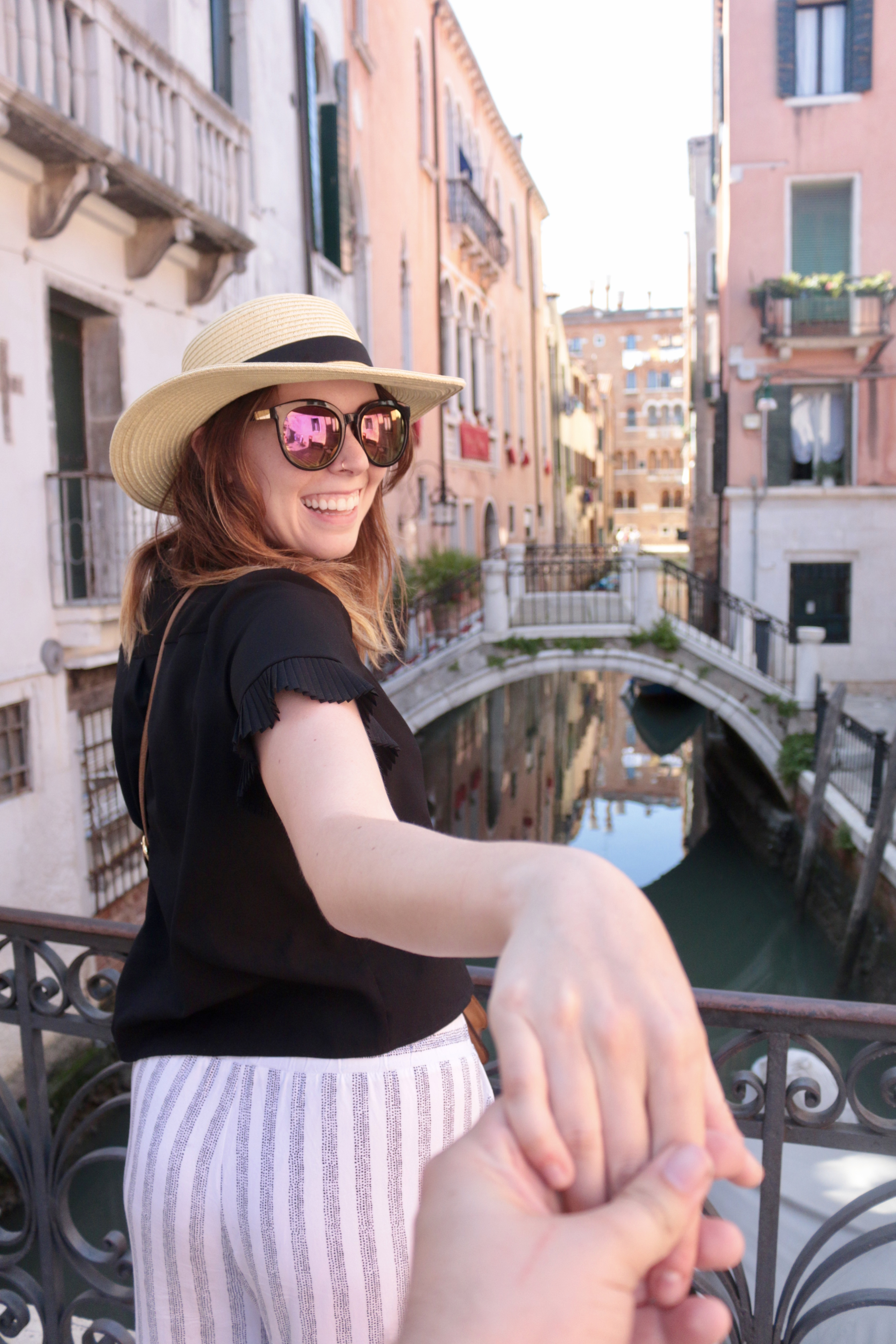 Stripes in Venice + A Gucci Giveaway | Greta Hollar
