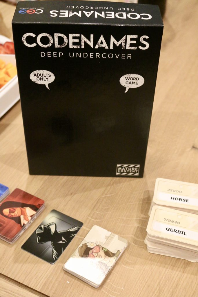 Game Night with Codenames: Deep Undercover