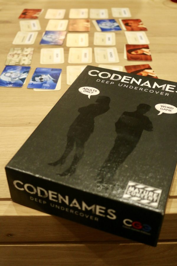 Game Night with Codenames: Deep Undercover | Greta Hollar