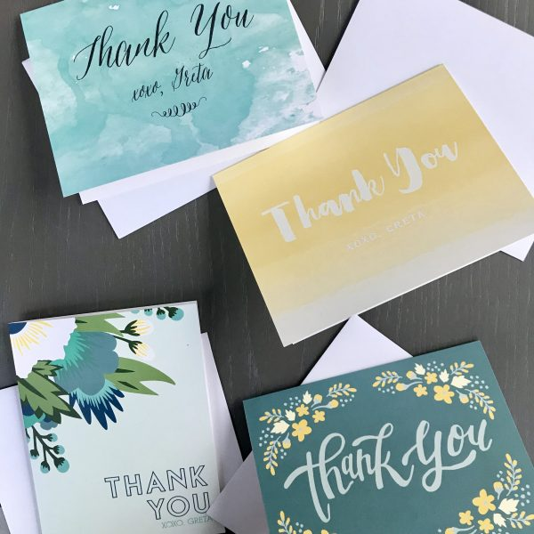 Why It's Important to Write Thank You Notes After NYFW | Greta Hollar