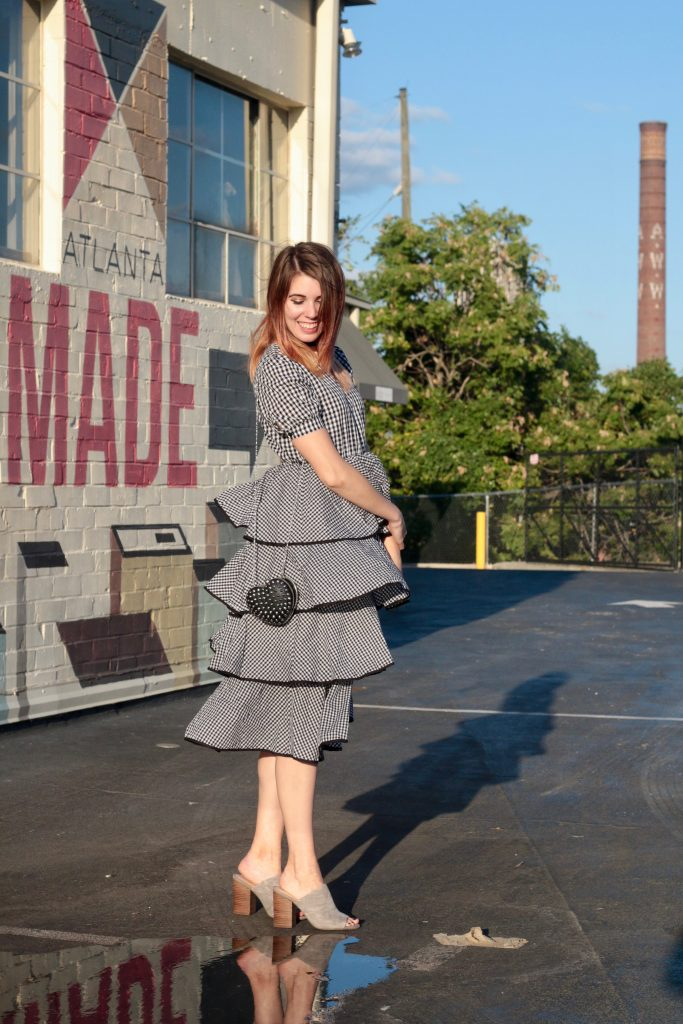 A Twirl-Worthy Gingham Dress