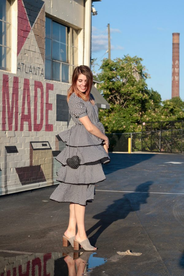 A Twirl-Worthy Gingham Dress | Greta Hollar