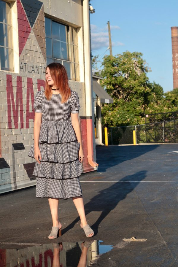 A Twirl-Worthy Gingham Dress | Greta Hollar - A Twirl-Worthy Gingham Dress by Nashville fashion blogger Greta Hollar