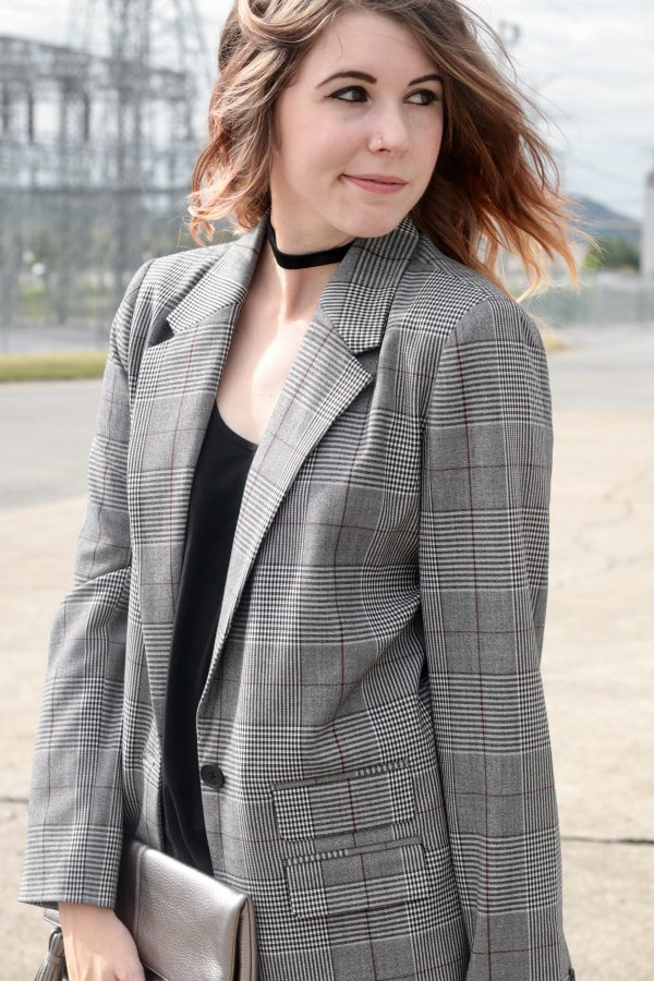 Plaid Blazer That's Only $35 | Greta Hollar