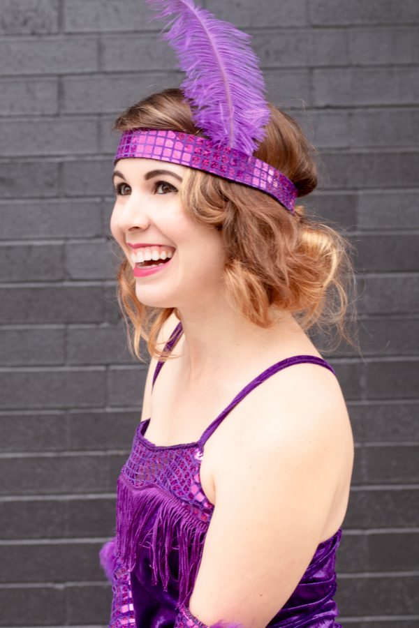 How to Get Flapper Hair for Halloween | Greta Hollar