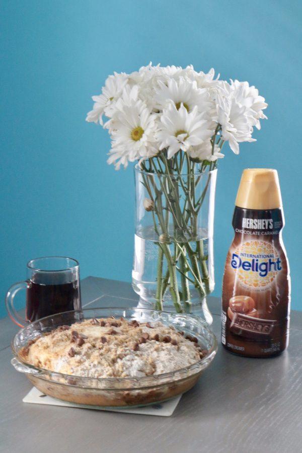 Chocolate Caramel Coffee Cake | Greta Hollar - Chocolate Caramel Coffee Cake by popular Nashville blogger Greta Hollar
