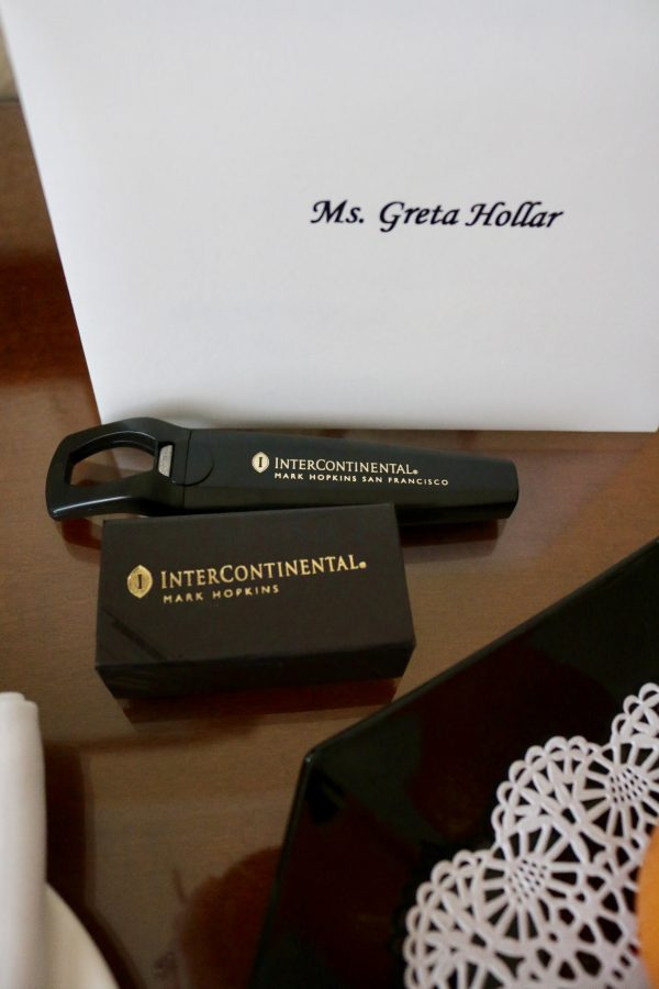 A Stay At the InterContinental Mark Hopkins | Greta Hollar