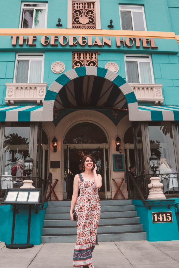 A Stay at The Georgian Santa Monica featured by popular Nashville travel blogger, Greta Hollar