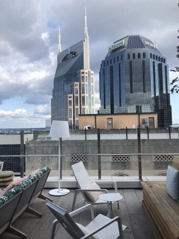5 Of My Favorite Hotel Rooftop's in Nashville | Greta Hollar