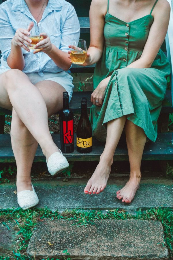 #InternationalCabernetDay   Evening Porch Hangs with Girlfriends and JaM Cellars featured by popular Nashville life and style blogger Greta Hollar