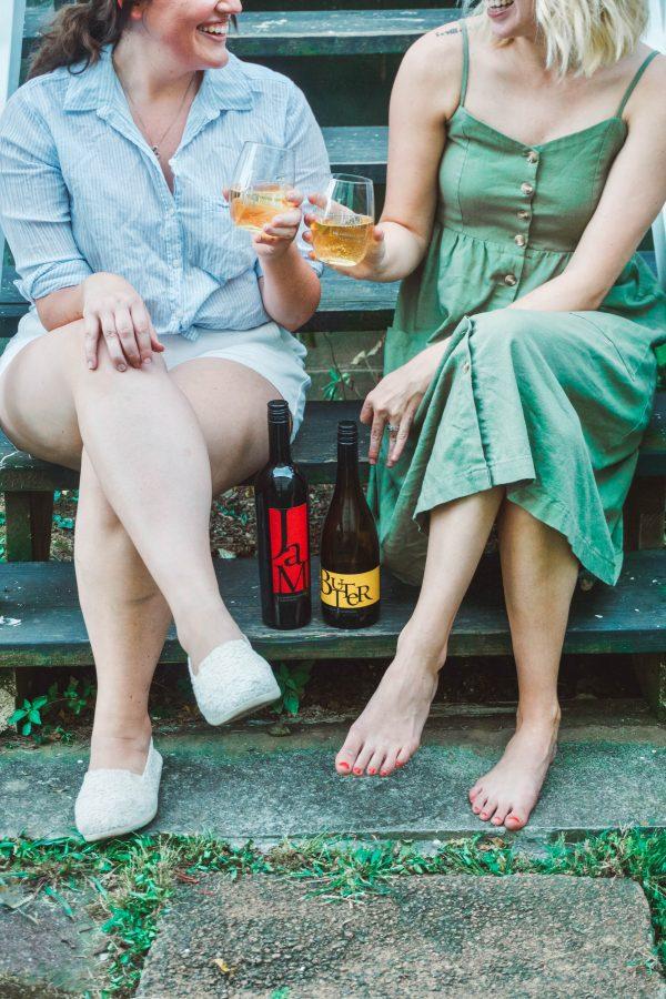 Evening Porch Hangs with Girlfriends and JaM | Greta Hollar