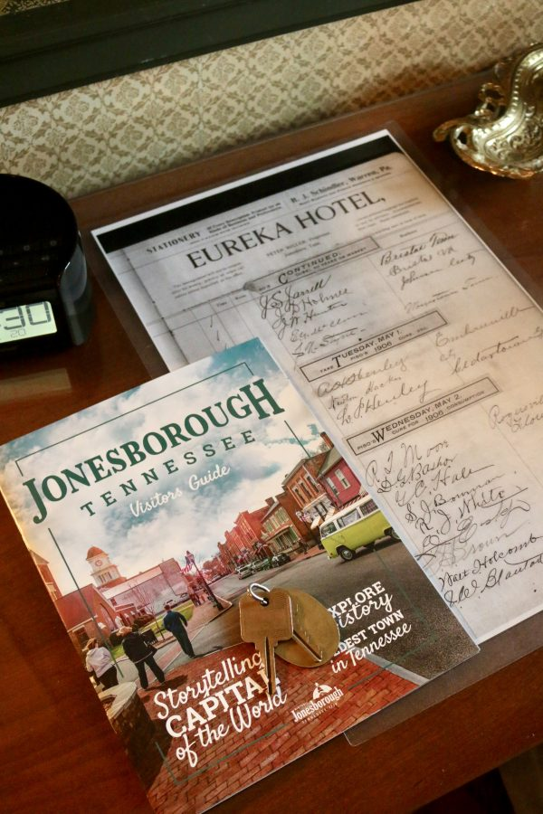 A Romantic Weekend in Historic Jonesborough, TN featured by popular Nashville travel blogger Greta Hollar