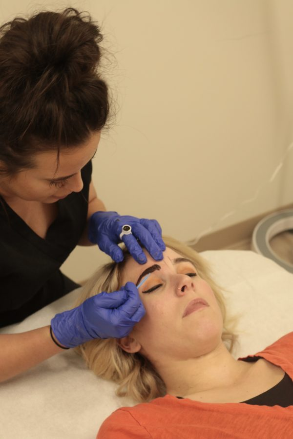 My Microblading Experience featured by popular Nashville beauty blogger Greta Hollar