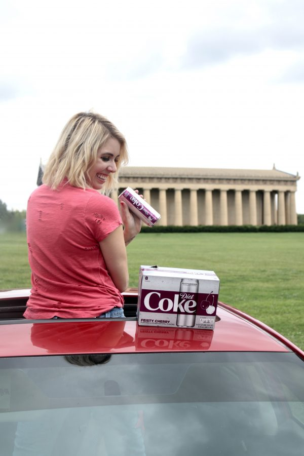 My Favorite Road Trip Drink? Diet Coke! | Greta Hollar | Greta Hollar | Diet Coke, the Best Road Trip Drink featured by popular Nashville travel blogger, Greta Hollar