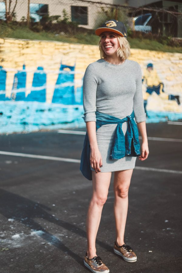 Hockey   Fashion   4 Outfits to Wear to a Nashville Predators Game featured by top Nashville fashion blog Greta Hollar