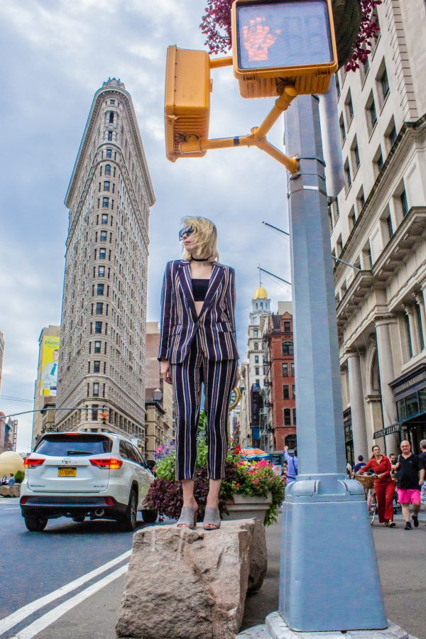 NYFW Outfits with H&M featured by top Nashville fashion blog Greta Hollar