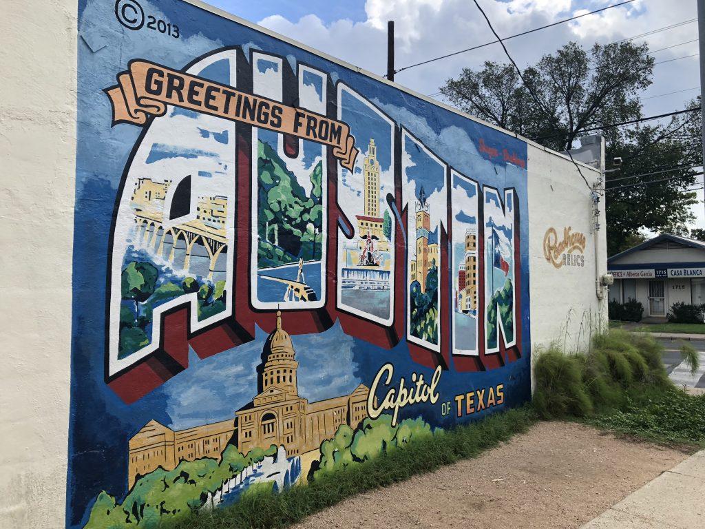 10 of My Favorite Austin, TX Murals