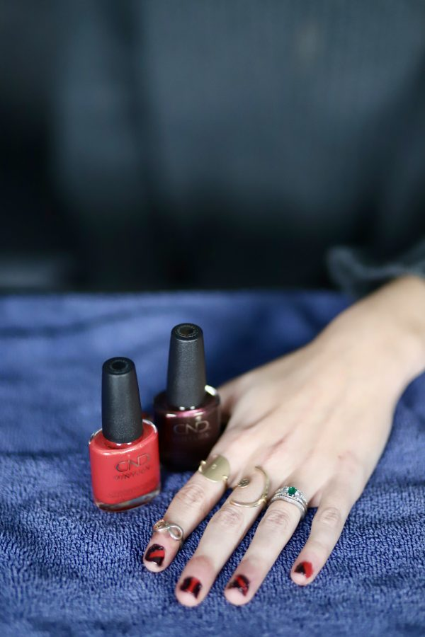 CND™ VINYLUX™ | Rite Aid | Festive Fall Manicures featured by top Nashville beauty blog Greta Hollar