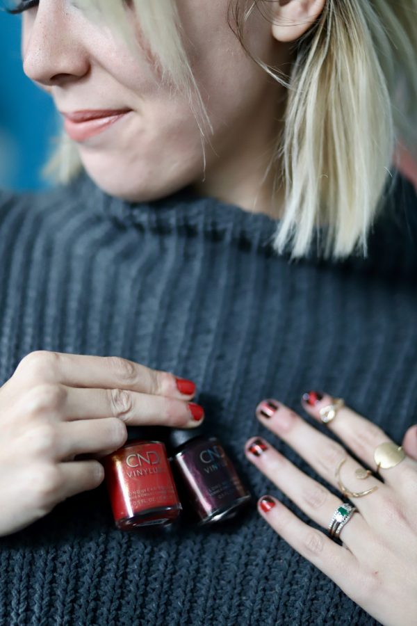 Festive Fall Manicure Idea | Greta Hollar
