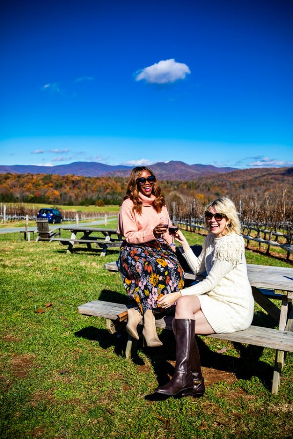 5 of My Favorite Wineries in Charlottesville, VA | Greta Hollar| Wineries in Charlottesville featured by top Nashville travel blogger, Greta Hollar: Stinson Vineyards