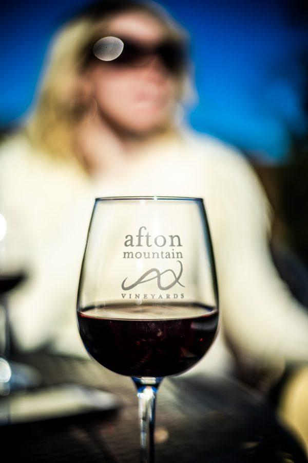 5 of My Favorite Wineries in Charlottesville, VA | Greta Hollar | Wineries in Charlottesville featured by top Nashville travel blogger, Greta Hollar: Afton Mountain Vineyards