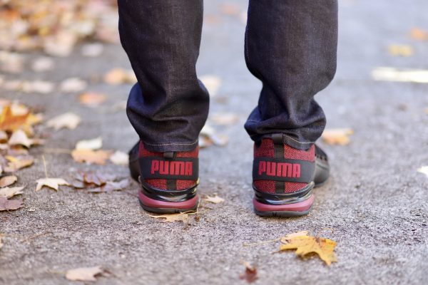 The Holiday Gift Everyone Needs from Kohl's | Greta Hollar | The Best Kohl's Gifts featured by top Nashville fashion blogger, Greta Hollar: image of a man wearing the new PUMA Axelion, available at Kohl's