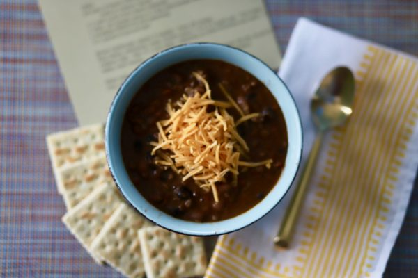 Pot of Chili featured by top US lifestyle blogger Greta Hollar