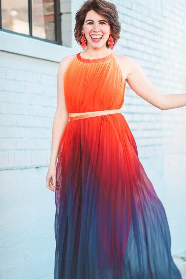 A Dress of Many Colors   Greta Hollar