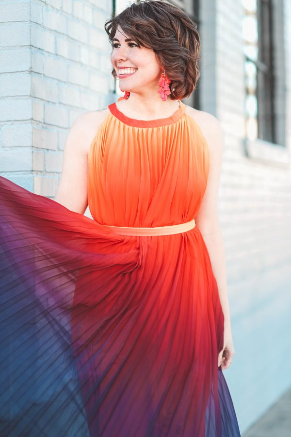 A Dress of Many Colors | Greta Hollar