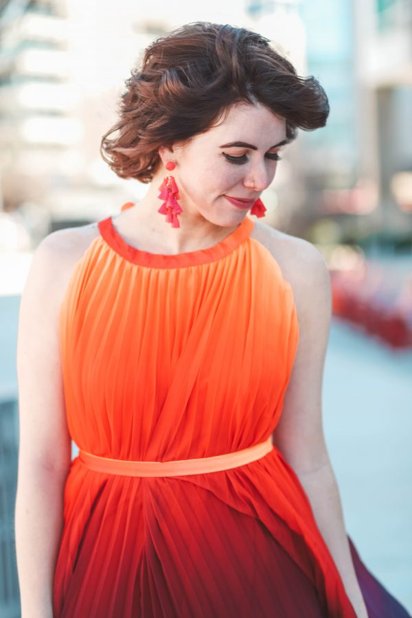 A Dress of Many Colors | Greta Hollar