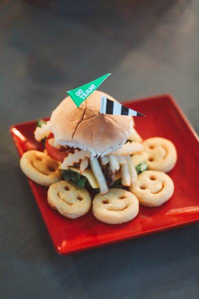 Game Day Cola Burgers & Fries | Greta Hollar