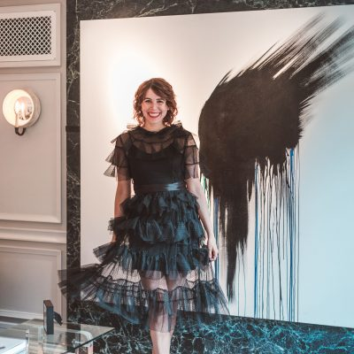The Perfect Black Dress for a Wedding Rehearsal Dinner   Greta Hollar