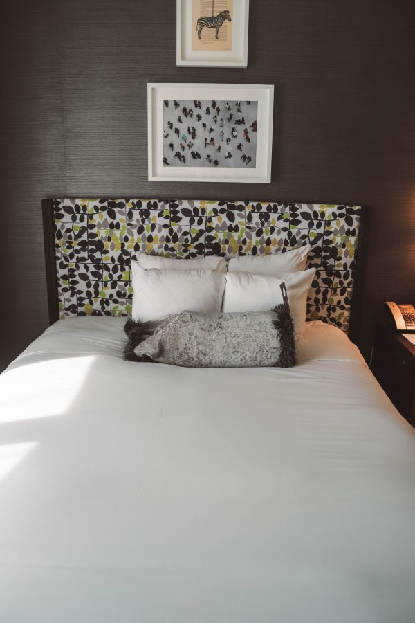 Kimpton Brice Hotel featured by top US travel blogger Greta Hollar