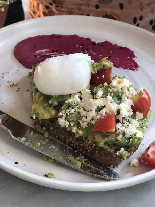 Savannah Travel Guide | Greta Hollar | The Ultimate Savannah Travel Guide by popular Nashville lifestyle blogger, Greta Hollar: image of avocado toast.