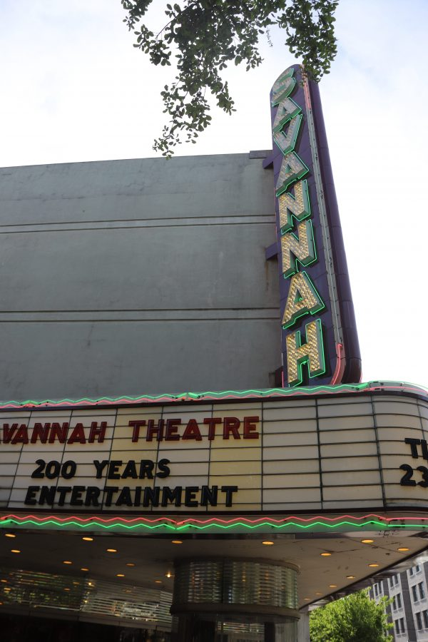 Savannah Travel Guide | Greta Hollar | The Ultimate Savannah Travel Guide by popular Nashville lifestyle blogger, Greta Hollar: image of the Savannah theater.