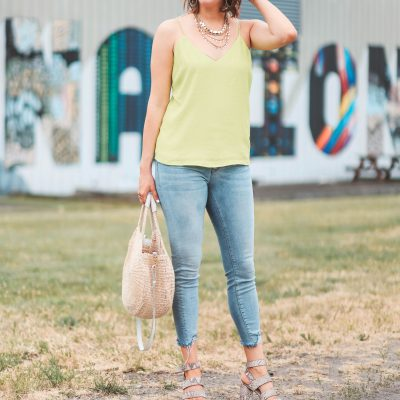 A Spray Tan & Neon Green | Greta Hollar