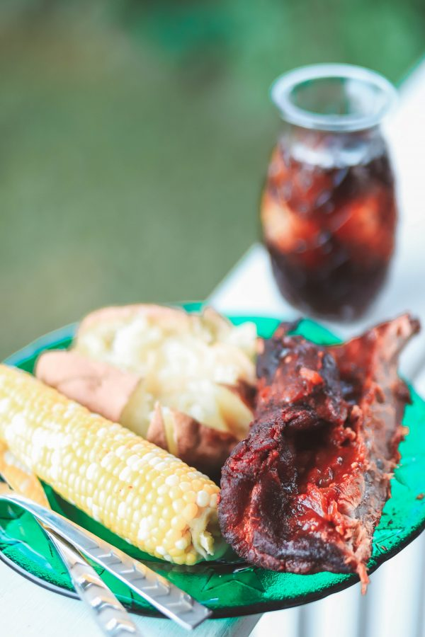 Coca Cola Pork Ribs featured by top US foodie blogger Greta Hollar